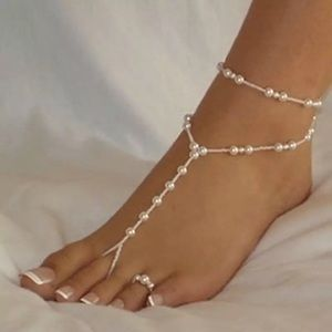 Jewelry - Pearl Barefoot Sandals Anklet